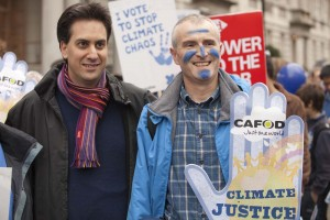 The Energy and Climate Change Secretary of State, Ed Milliband joins the Wave.