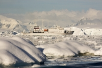 Akademik-Sergey-Vavilov;ship;boat;expedition;cruise;cruise-ship;expedition-cruise;Russian;ice-strengthened;Antarctica;Antarctic-cruise;tourism;Antarctic-tourism;deck;orange;railings;life-belt;life-boat;mountain;coast;scenery;Antarctic-Peninsular;iceberg;sea-ice;mountain;fjord;glacier;cold;summer;climate-change;global-warming;Gerlache-strait;climate-change;global-warming;glacial-retreat;sea-ice-melt;iceberg;brash-ice;bergy-bits