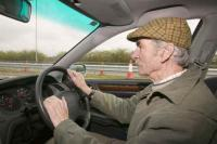 pensioner;old;man;driving;driver;car;car-culture;carbon-footprint;carbon-emmissions;flat-cap;travel;transport;inefficient