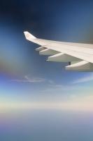flight;flying;plane;airplane;aviation;coast;sea;Persian-Gulf;UAE;Dubai;sky