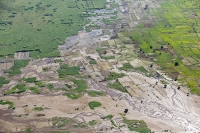 Malawi;Africa;flood;floods;flooding;African;disaster;climate-change;global-warming;refugee;Shire-Valley;destroyed;destruction;river-bank;eroded;erosion;washed-away;flood-debris;farming;agriculture;subsistence;Shire-River;aerial;aerial-photography;flood-debris;sand;tree;inundated;flood-plain;polluted;pollution;field;boundary