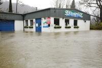 Floods;flooding;flooded;Ambleside;Cumbria;Lake-District;UK;weather;extreme-weather;climate-change;global-warming;deluge;torrential-rain;downpour;meteorology;low-pressure;weather-front;rain;raining;heavy-rain;precipitation;wet;sodden;house;flooded-house;insurance;insurance-claim;flood-damage;unit;play-centre;for-sale;flood-victim