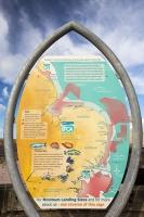 fisheries;fish;conservation;sign;North-Norfolk;coast;Weybourne;UK;minimum-landing-sizes;catch;fishing;sea-fish;sea-fishing;angling;sustainable;environment