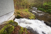 waterfall;river;Loch-Tay;Acharn;Falls-of-Acharn;drop;gravity;woodland;tree;forest;hydro;HEP;hydro-electric-power;electricity;generation;renewable;renewable-electricity;carbon-neutral