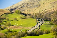 Rydal;Cumbria;UK;Lake-District;landscape;track;damamge;hill;hillside;construction;access;access-track;access-road;road;hydro;HEP;investment;green;green-energy;electricity;climate-change;global-warming;Scandale