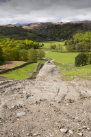 Rydal;Hydro-electric;scheme;Ambleside;Lake-District;UK;HEP;renewable-energy;green;National-Park;hill;climate-change;construction;global-warming;carbon-neutral;investment;Scandale;JCB;plant;machinery;ground-works;road;track