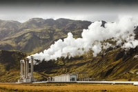 Iceland;power-station;power;electricity;energy;geothermal;geothermal-energy;geothermal-electricity;steam;steaming;heat;hot;bore-hole;tapping;borehole;pipe;piping;temperature;geothermal-power;vulcanicty;climate-change;global-warming;carbon-footprint;carbon-neutral;geology;plate-tectonics;tectonic;Hellisheidi-power-station;lava;lava-field;lava-flow;magma;rock;Hellisheidi;Hengill;energy;electricity;green;eco;environment;renewable-energy;clean-energy;green-energy;green-electricity;chimney