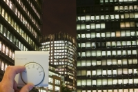 office-block-business-commerce-commercial-finance-economy-night;temperature;thermometer;thermostat;hand