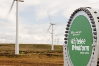 Scotland;Lanarkshire;climate-change;global-warming;energy;power;renewable-energy;clean-energy;carbon-neutral;wind-power;wind-farm;wind-turbine;carbon-footprint;moorland;sky;blue;cloud;Whitelee;Whitelee-windfarm;Eaglesham;Eaglesham-moor;sustainable;sustainability;large;MW;megawatt;output;energy-needs;energy-production;electricity-production;rotor;turbine;nacelle;Scottish-Power;energy-company;investment;green-investment;bolt;visitor-centre
