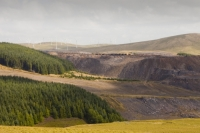 spoil;spoil-heap;mine;mining;open-cast;open-cast-coal-mine;coal;coal-mine;coal-mining;waste;pollution;polluted;contamination;contaminated;health-issues;ill-health;disease;Douglas;Lanarkshire;Scotland;UK;climate-change;global-warming;fossil-fuel;cancer;health-statistics;Spireslack;wind-farm;wind-turbine;renewable-energy;wind-power;Hagshaw-hill