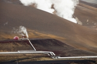 Iceland;power-station;power;electricity;energy;geothermal;geothermal-energy;geothermal-electricity;steam;steaming;heat;hot;bore-hole;tapping;borehole;pipe;piping;temperature;geothermal-power;vulcanicty;climate-change;global-warming;carbon-footprint;carbon-neutral;geology;plate-tectonics;tectonic;Krafla-power-station;lava;lava-field;lava-flow;magma;rock;Krafla-energy;electricity;green;eco;environment;renewable-energy;clean-energy;green-energy;green-electricity;chimney