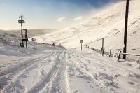 hill;mountain;Lake-District;Cumbria;UK;weather;winter;cold;snow;snow-storm;white;National-Park;meteorology;Kirkstone;Kirkstone-Pass;road;driving-conditions;road;ice;icy;slippy;the-struggle