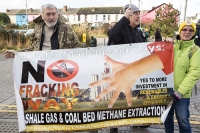 fracking;shale-gas;Blackpool;Lancashire;UK;protest;fossil-fuel;climate-change;global-warming;banner;placard;concern;environment;environmentalist;yellow;colourful;gas;energy;energy-policy;planning;planning-application;planning-appeal;Cuadrilla;David-and-Goliath;battle;localism;democracy;person;man;woman;concerned;green;no;Manchester