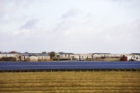Walney;Walney-Island;Cumbria;UK;caravan;static-caravan;caravan-park;holiday-park;solar;solar-power;solar-energy;electricity;generation;solar-panel;PV;photo-voltaic;renewable;renewable-energy;south;south-facing;FIT;feed-in-tarriff;generating