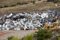 Australia;Snowy-Mountains;Jindabyne;green;environment;recycle;recycling;metal;steel;scrap;scrap-metal;rubbish;rubbish-dump;tip;refuse;garbage;land-fill