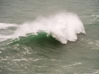 Cornwall;South-West;coast;island;island;wave;wave-power;energy;breaking;breaking-wave;splash;spray;UK;Park-Head