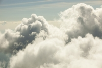 cloud;cloud-tops;cumulus;weather;water-vapour;aerial;aerial-photograph;meteorology;fluffy;pattern;shape;form;sky