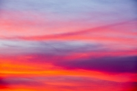 Sunset;Ambleside;Lake-District;UK;Cumbria;sky;dusk;evening;sky;cloud;glow;glowing;colour;colourful;pink;red;underlighting;red-sky