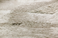 Manchester;weather;global-warming;climate-change;wet;rain;raining;downpour;torrent;torrential;drain;flood;flooding;C02;overwhelmed;street;road;heavy-rain;cloud-burst;thunderstorm;shower;extreme-weather