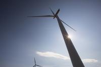 Southern-Uplands;Biggar;Scotland;UK;hill;moor;moorland;sky;blue;climate-change;carbon;Borders;wind-turbine;wind-farm;renewable;renewable-energy;Clyde-Wind-farm;blade;turbine-blade;wind-energy;wind-power;carbon-neutral;clean;green;global-warming;electricity;generating;generation;sun
