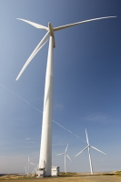 Southern-Uplands;Biggar;Scotland;UK;hill;moor;moorland;sky;blue;climate-change;carbon;Borders;wind-turbine;wind-farm;renewable;renewable-energy;Clyde-Wind-farm;blade;turbine-blade;wind-energy;wind-power;carbon-neutral;clean;green;global-warming;electricity;generating;generation;sub-station
