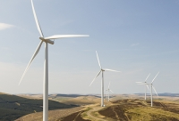 Southern-Uplands;Biggar;Scotland;UK;hill;moor;moorland;sky;blue;climate-change;carbon;Borders;wind-turbine;wind-farm;renewable;renewable-energy;Clyde-Wind-farm;blade;turbine-blade;wind-energy;wind-power;carbon-neutral;clean;green;global-warming;electricity;generating;generation